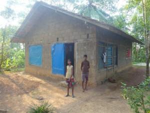 Haus Patenfamilie vorher